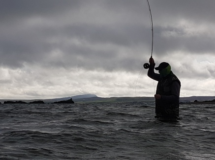 Fly Fish Islay Sea Trout Fishing
