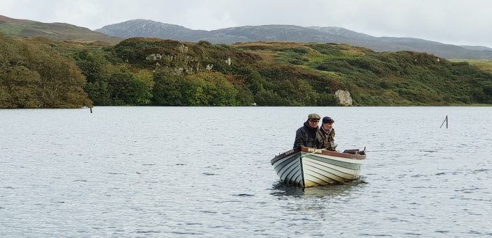 Fly Fish Islay Boat Fishing