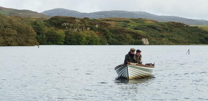 Fly Fish Islay Boat Fishing