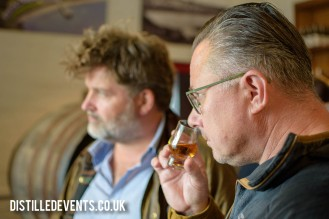 Daz and Paul tasting