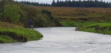 River Laggan fishing