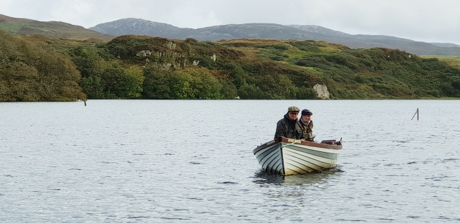 boat hire islay