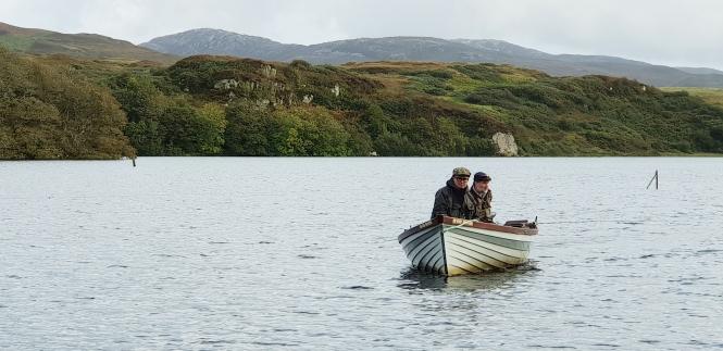 boat hire islay