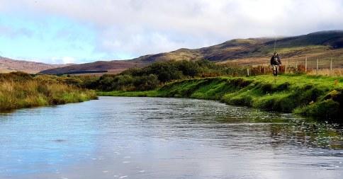 River Laggan Islay Fishing