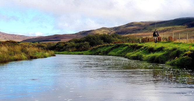 River Laggan Islay Fishing